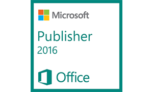 Office Publisher 2016