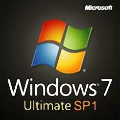 Windows7 Ultimate (32/64Bit) SP1 ダウンロード版