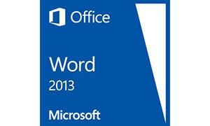 Office Word 2013 ダウンロード版