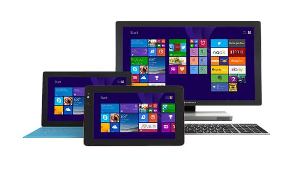 Windows 8.1 の新しいスタート画面